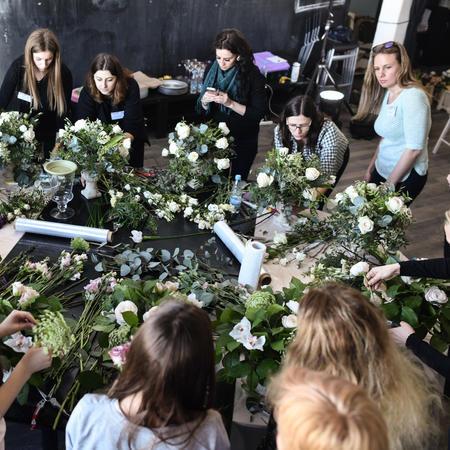 В Минске в очередной раз пройдут практические интенсивы по свадебному декору от студии ArtHappy.
