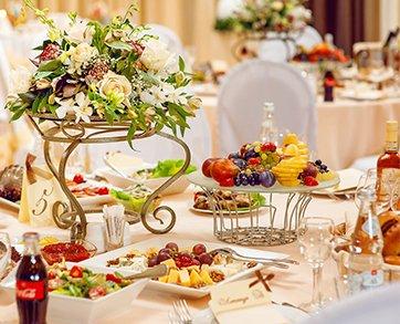 Свадебный банкет: определяемся с меню