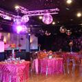 Первый шаг к свадьбе в стиле диско заключается в аренде ночного или...