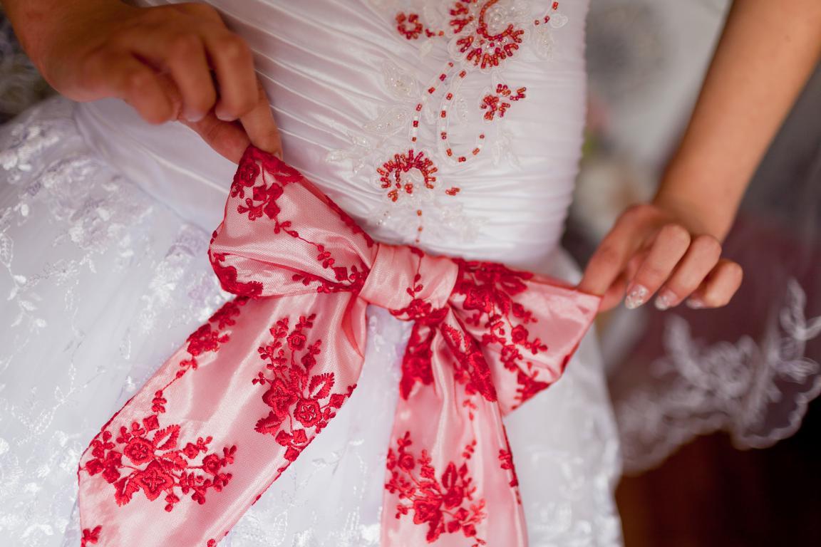 Вышивка платье свадебное платье 56