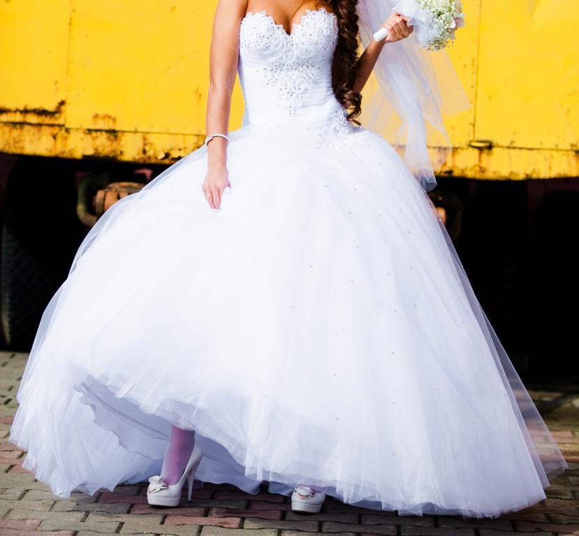 Свадебное Платье Пышное Купить Недорого В Москве