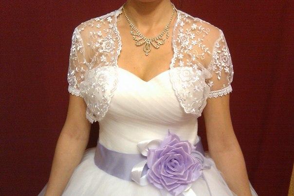 Продаётся свадебное платье б/у, размер 42-44, рост 170, цена 345 рублей - Swadba.by