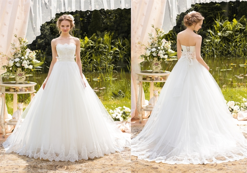 Николетта свадебное платье