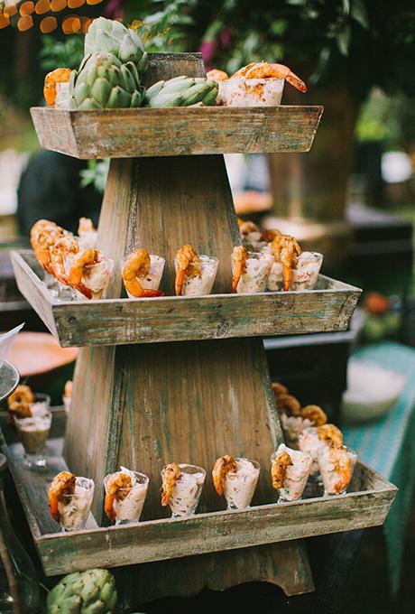 Seafood bar for wedding