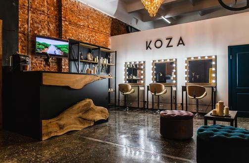 "Фотостудия, школа, прически и макияж в одном флаконе ""Koza"""