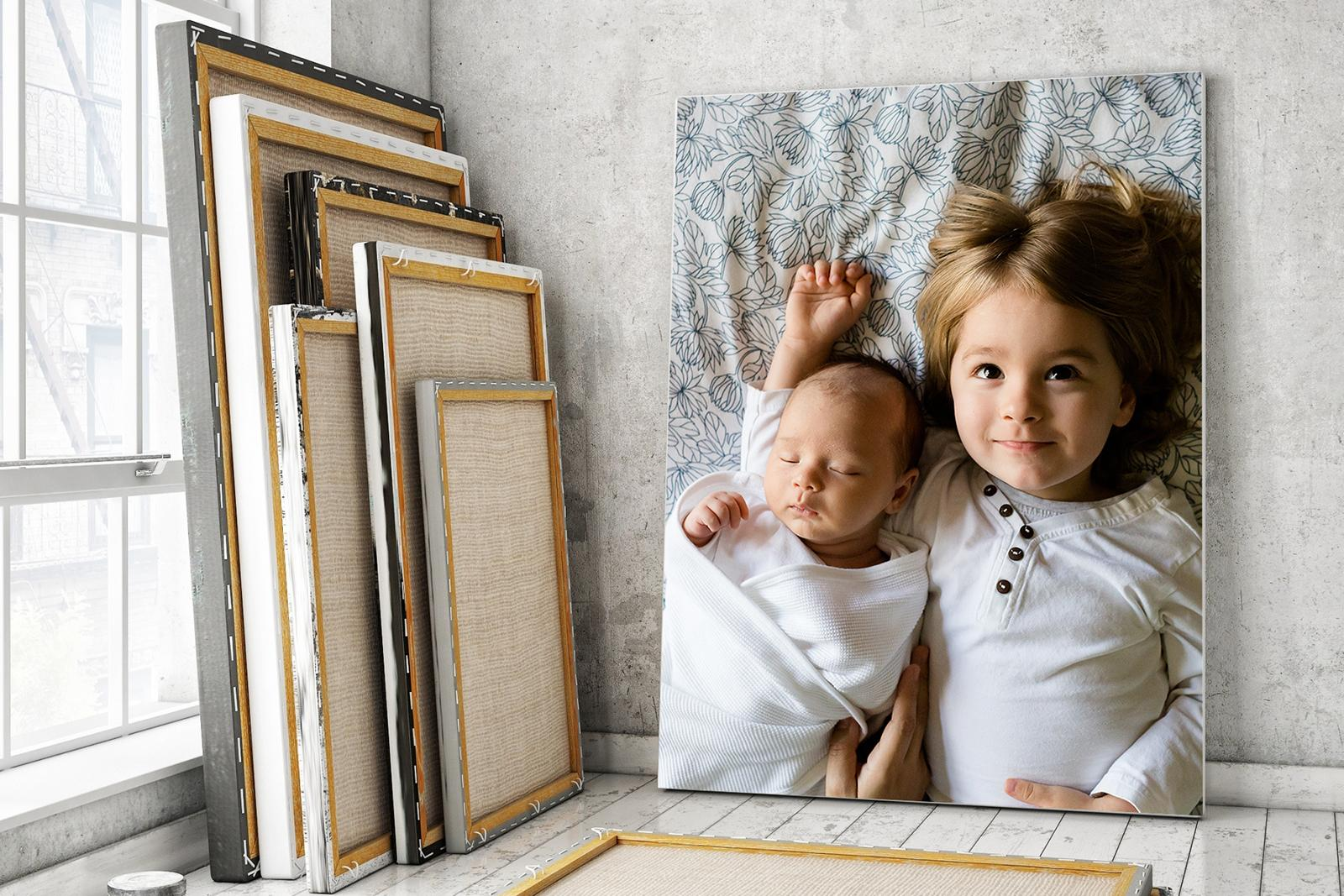напечатать фото на картине кукла будет