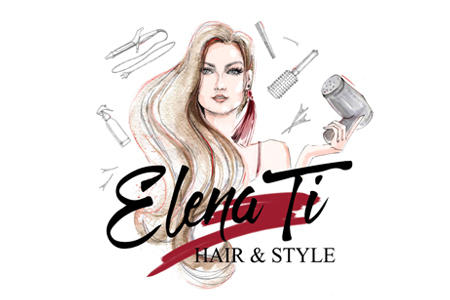 Elena Ti. Свадебные, Вечерние прически, Наращивание волос