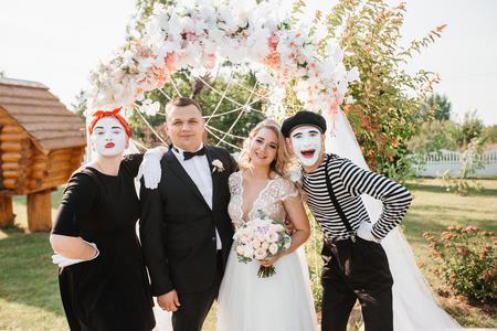 Французские мимы на свадьбу «Династия Мим»