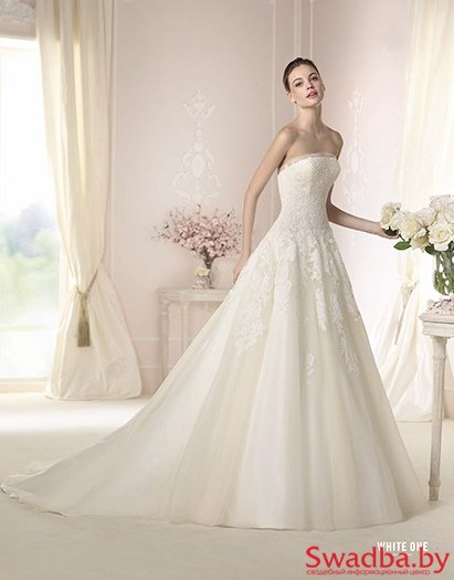 WEGA / ВЕГА - Pronovias White One (Испания) и Mori Lee (США) - фото 61
