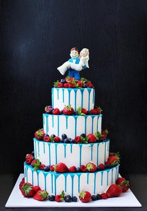 Торты на заказ Домашние торты от Марты Липинской - Свадебные торты - фото 19