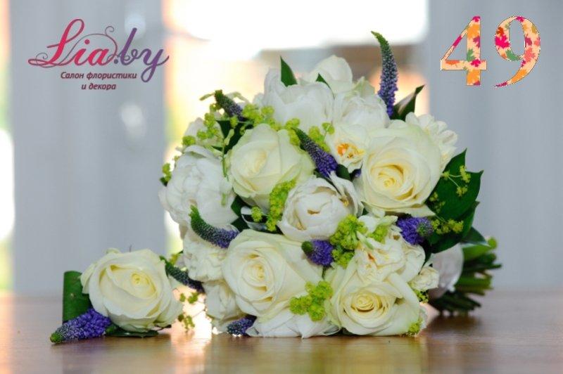Салон флористики и декора Lia.by - Букет невесты - фото 47