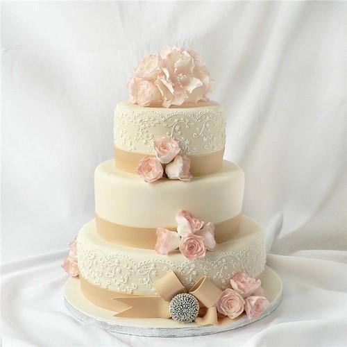Торты на заказ Домашние торты от Марты Липинской - Свадебные торты - фото 24