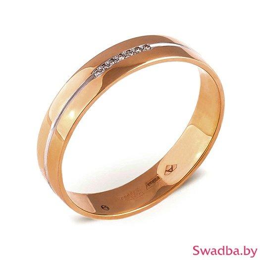 """Салон обручальных колец """"Свадьба"""" - Обручальные кольца с бриллиантами - фото 10"""