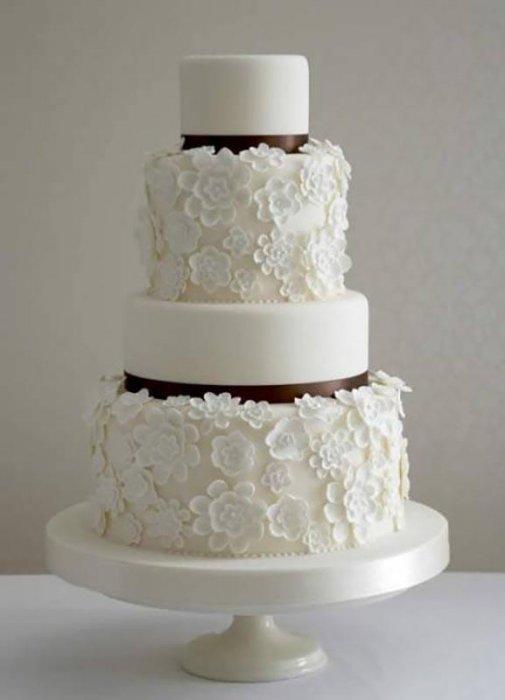 Торты на заказ Домашние торты от Марты Липинской - Свадебные торты - фото 25