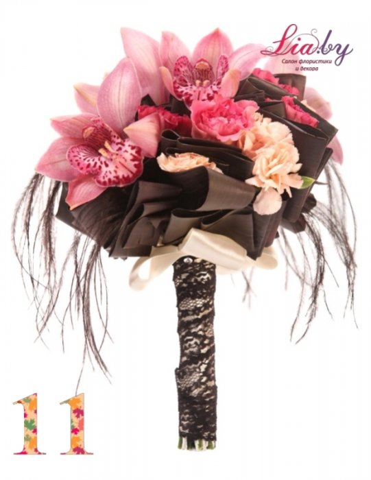 Салон флористики и декора Lia.by - Букет невесты - фото 11