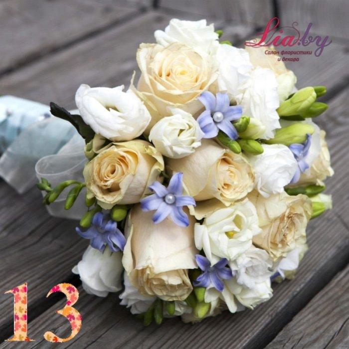 Салон флористики и декора Lia.by - Букет невесты - фото 13