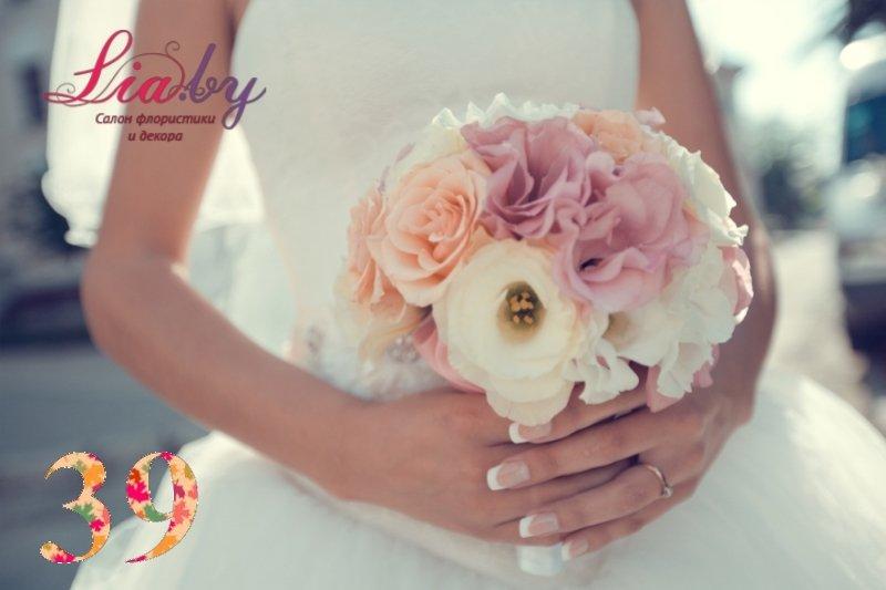 Салон флористики и декора Lia.by - Букет невесты - фото 37