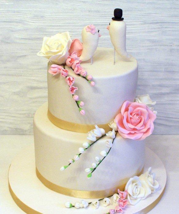 Торты на заказ Домашние торты от Марты Липинской - Свадебные торты - фото 28