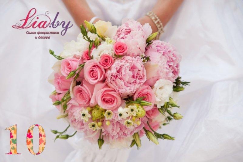 Салон флористики и декора Lia.by - Букет невесты - фото 9