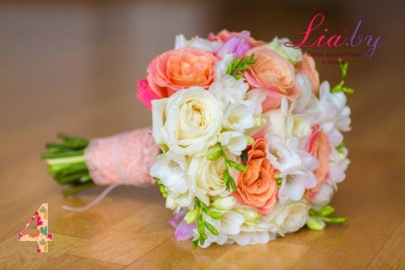 Салон флористики и декора Lia.by - Букет невесты - фото 3