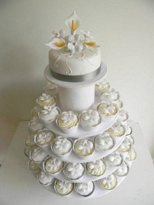 Торты на заказ Домашние торты от Марты Липинской - Свадебные капкейки - фото 6