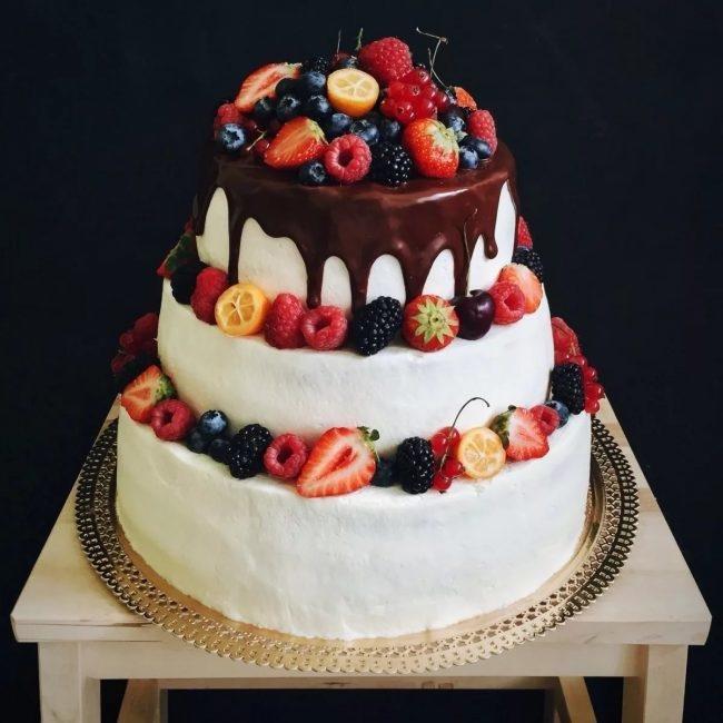 Торты на заказ Домашние торты от Марты Липинской - Свадебные торты - фото 9
