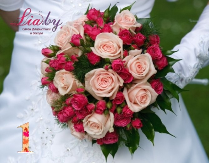 Салон флористики и декора Lia.by - Букет невесты - фото 1