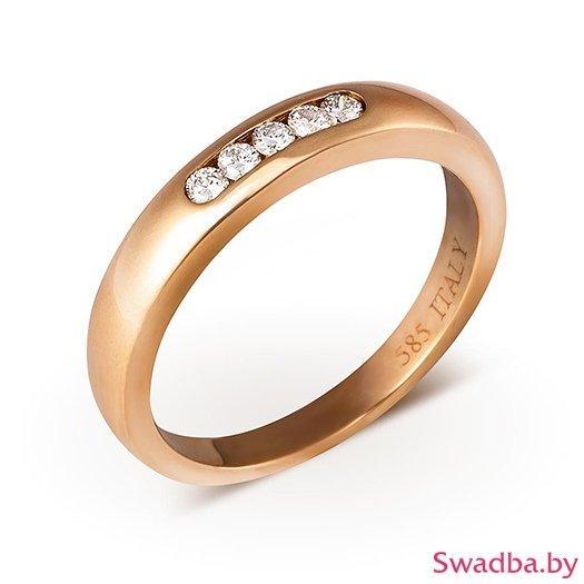 """Салон обручальных колец """"Свадьба"""" - Обручальные кольца с бриллиантами - фото 44"""