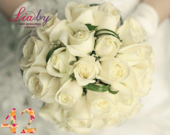 Салон флористики и декора Lia.by - Букет невесты - фото 40