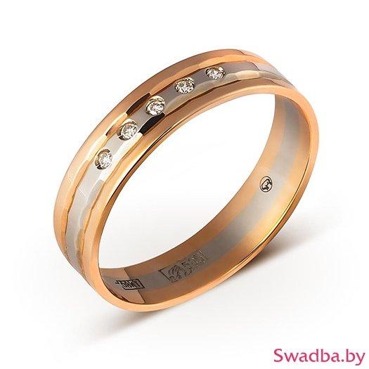 """Салон обручальных колец """"Свадьба"""" - Обручальные кольца с бриллиантами - фото 73"""