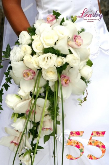 Салон флористики и декора Lia.by - Букет невесты - фото 54