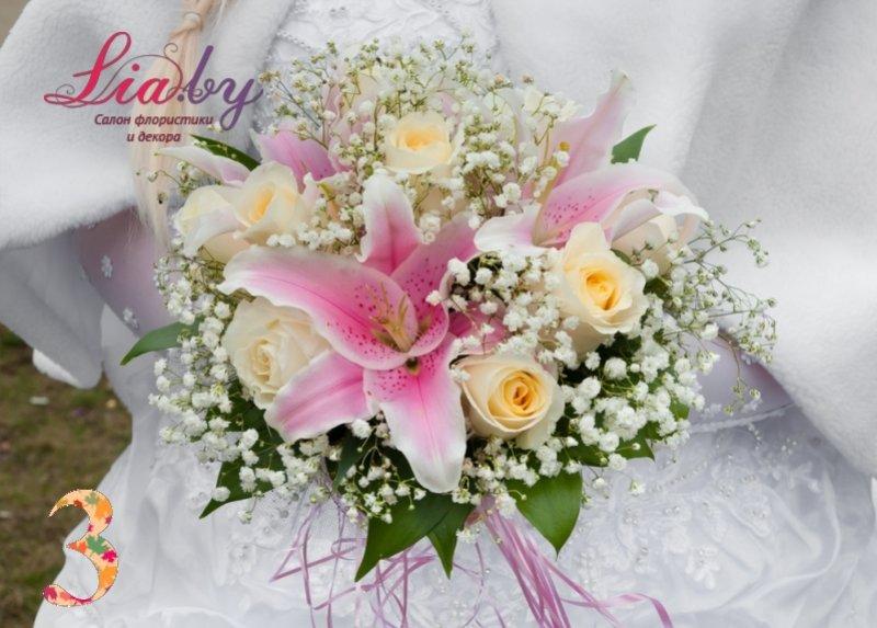 Салон флористики и декора Lia.by - Букет невесты - фото 6