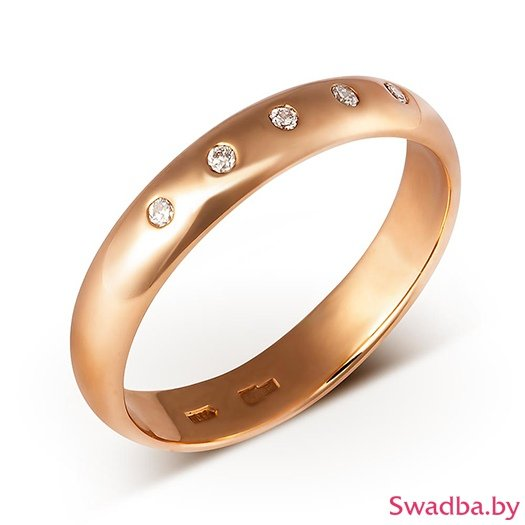 """Салон обручальных колец """"Свадьба"""" - Обручальные кольца с бриллиантами - фото 36"""