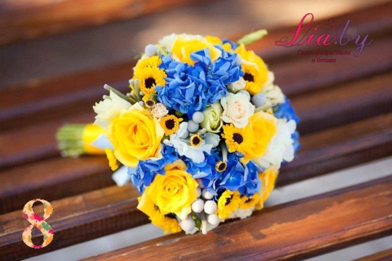 Салон флористики и декора Lia.by - Букет невесты - фото 8