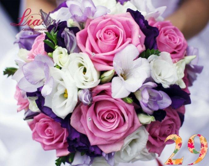 Салон флористики и декора Lia.by - Букет невесты - фото 28