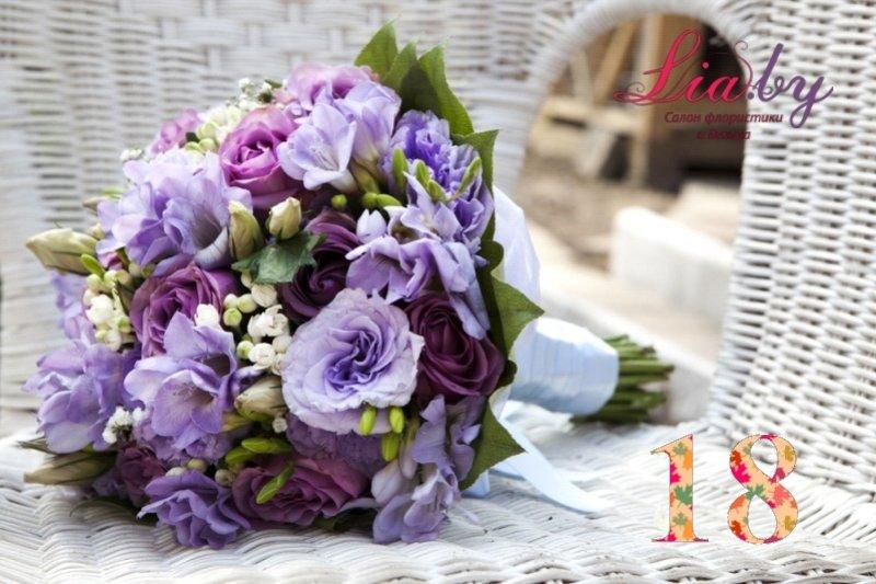 Салон флористики и декора Lia.by - Букет невесты - фото 19