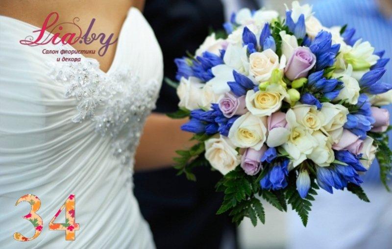 Салон флористики и декора Lia.by - Букет невесты - фото 32