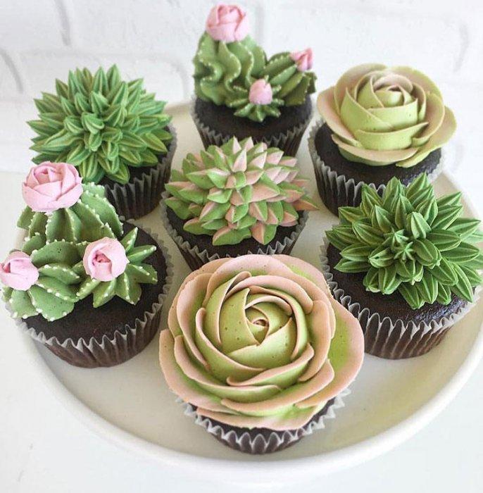 Торты на заказ Домашние торты от Марты Липинской - Свадебные капкейки - фото 8