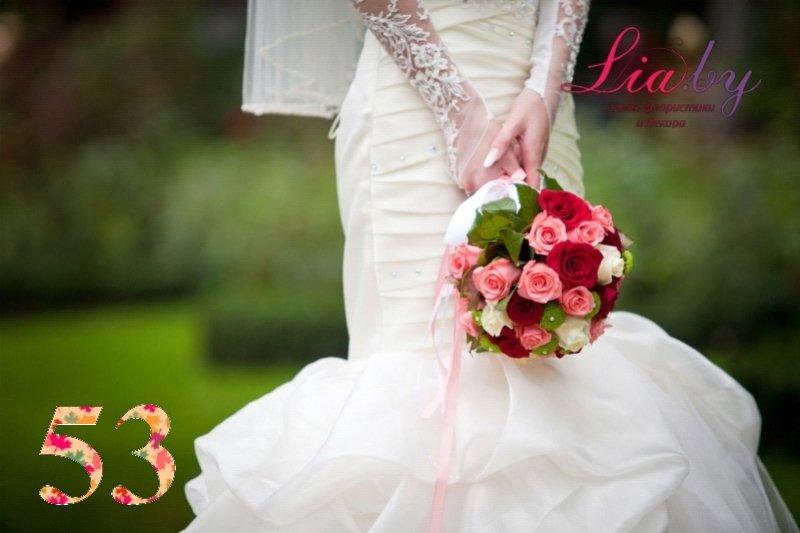 Салон флористики и декора Lia.by - Букет невесты - фото 53