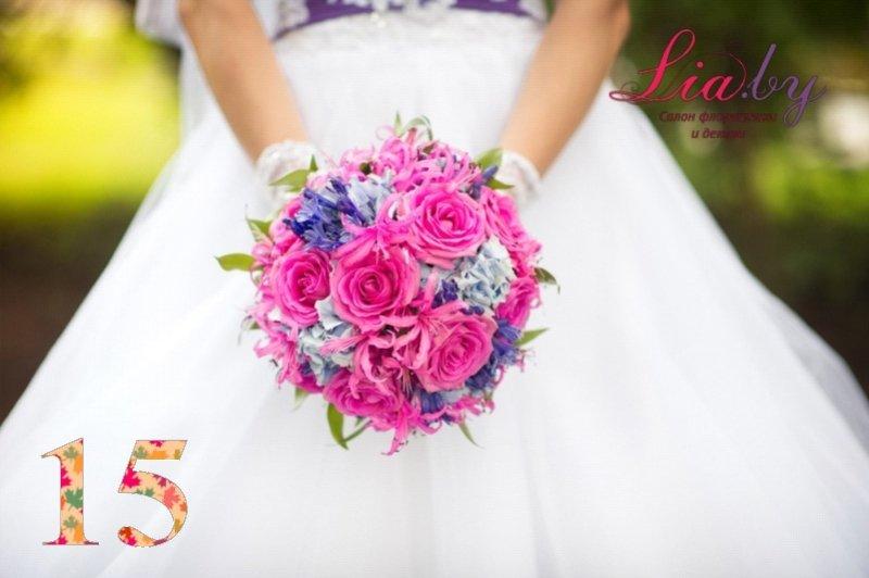 Салон флористики и декора Lia.by - Букет невесты - фото 14