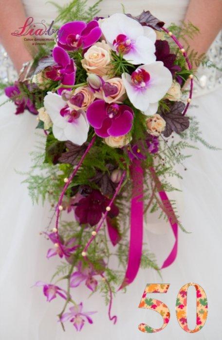 Салон флористики и декора Lia.by - Букет невесты - фото 49