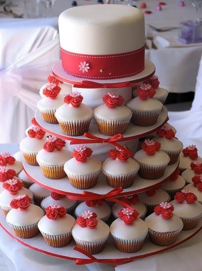 Торты на заказ Домашние торты от Марты Липинской - Свадебные капкейки - фото 7