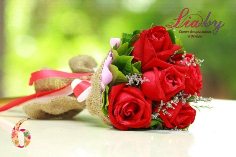 Салон флористики и декора Lia.by - Букет невесты - фото 2