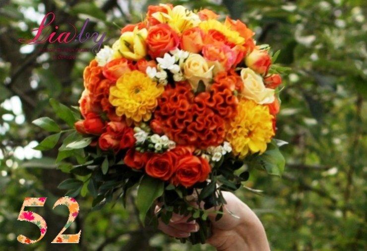 Салон флористики и декора Lia.by - Букет невесты - фото 50