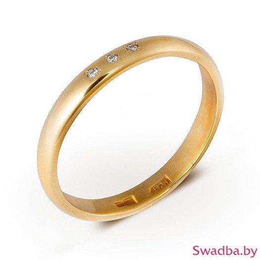 """Салон обручальных колец """"Свадьба"""" - Обручальные кольца с бриллиантами - фото 23"""