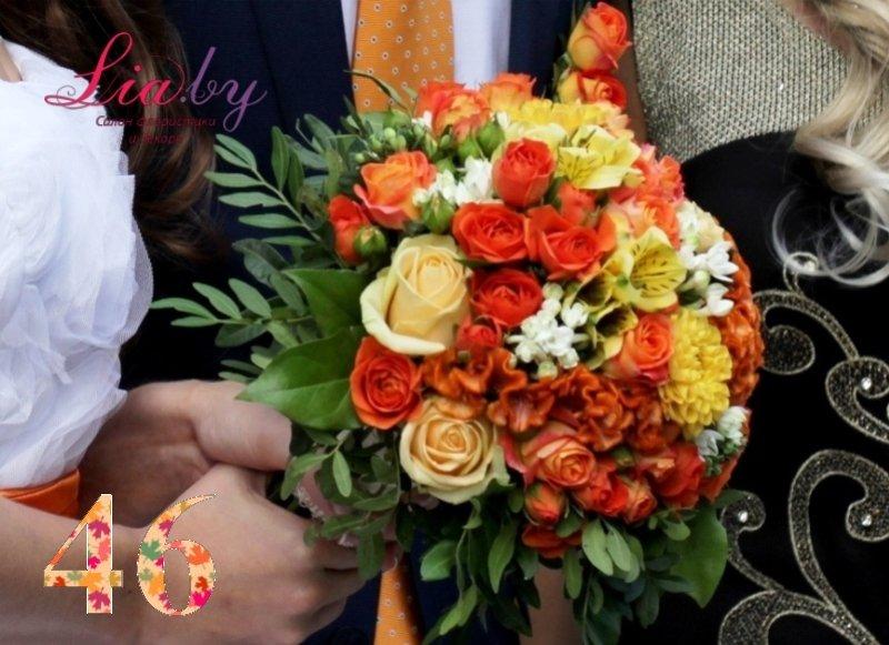Салон флористики и декора Lia.by - Букет невесты - фото 46