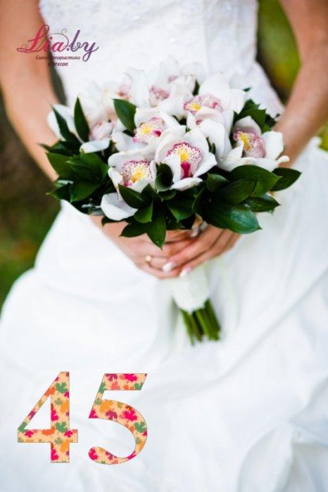Салон флористики и декора Lia.by - Букет невесты - фото 44