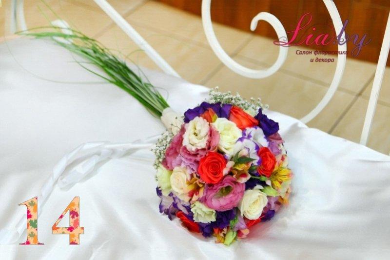 Салон флористики и декора Lia.by - Букет невесты - фото 10