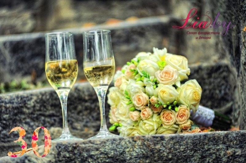 Салон флористики и декора Lia.by - Букет невесты - фото 29